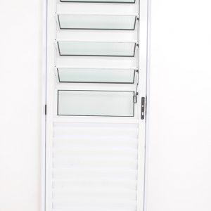 Porta Basculante de Alumínio Branca