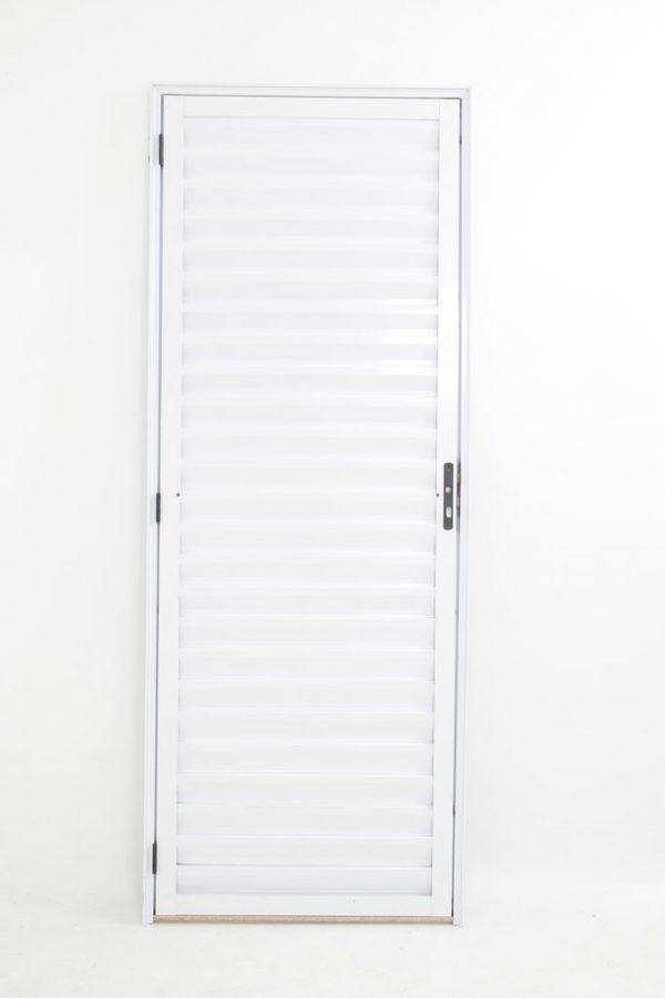 Porta Palheta de Alumínio Branca