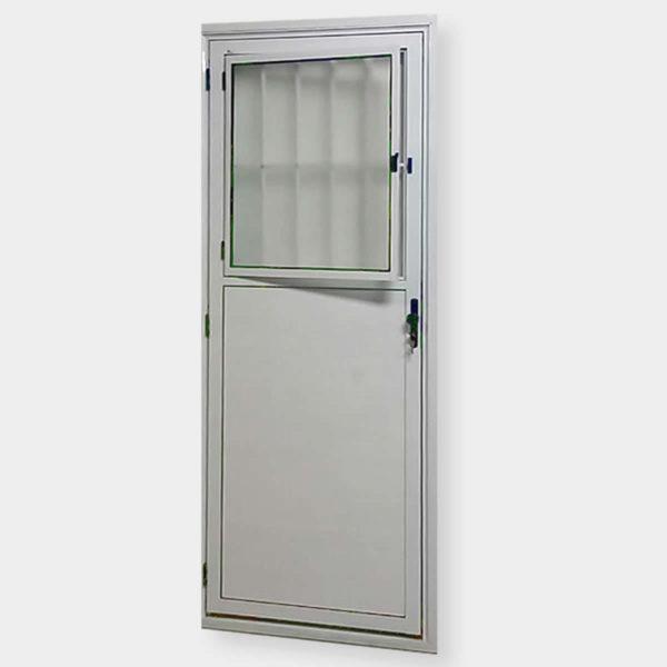 Porta Lambril Social de Alumínio Branco