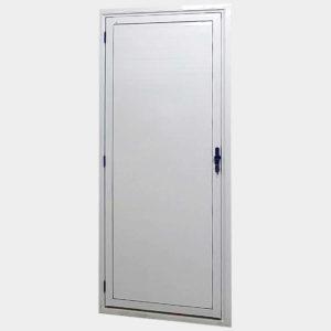 Porta Lambril de Alumínio Branco