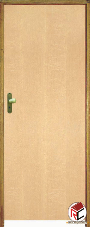 Porta de Madeira Lisa Curupixá