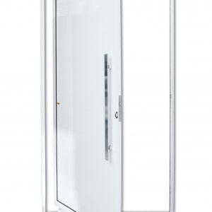 Porta Pivotante de Alumínio Lambril Branco Brimak